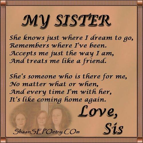 Big Sister Quotes Inspirational. QuotesGram To My Big Sister Quotes